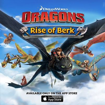 How to Train Your Dragon: Rise of Berk iOS Application Review